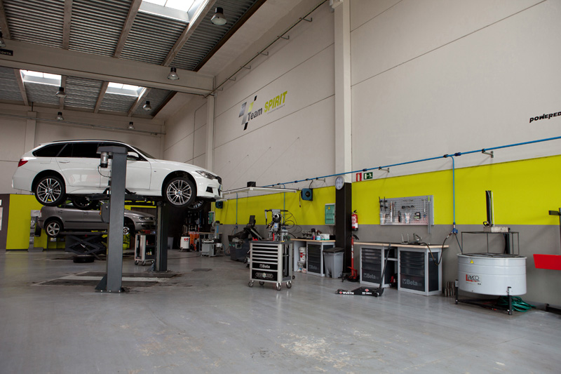 Team Spirit Taller de mecánica en Vitoria-Gasteiz